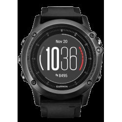 Спортивные часы FENIX 3 SAPPHIRE HR с черным ремешком со встроенным и нагрудным пульсометром