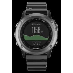 Спортивные часы Fenix 3 Sapphire c металлическим браслетом